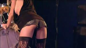 lea thompson in pantyhose