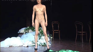On porn stage nude star