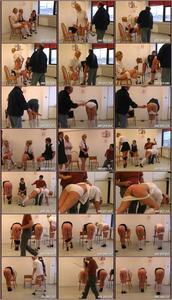 3 Girls Punished Spanking