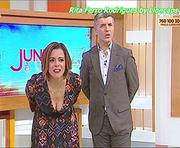 Rita Ferro Rodrigues sensual nas tardes da Sic