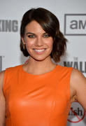 Lauren Cohan - The Walking Dead season 3 premiere in Universal City 10/04/12