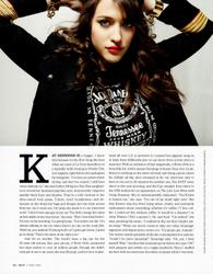 Kat Dennings Bust Magazine Dec 2011/Jan 2012 X5 UHQ