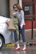 Мэнди Мур, фото 3377. Mandy Moore - leaving Little Dom's restaurant in California 02/15/12, foto 3377
