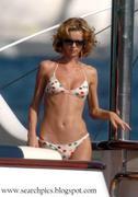 Eva Herzigova bikini pics