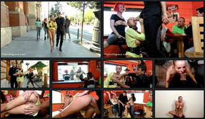 PUBLIC DISGRACE: May 6, 2016 - Steve Holmes , Proxy Paige , Carolina Abril  and Candy Alexa