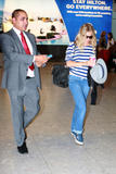 Сиенна Миллер, фото 2851. Sienna Miller arrives at Heathrow Airport - July 31, foto 2851