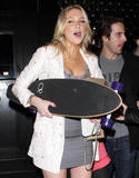 Stephanie Pratt | Outside the Trousdale Night Club in West Hollywood | April 3 | 11 leggy pics